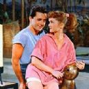 Debbie Reynolds and Vic Damone