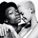 Amber Rose and Wiz Khalifa Pose For XXL Magazine - September 27, 2012