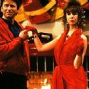 John Ritter and Laraine Newman