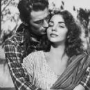 Jennifer Jones and Gregory Peck