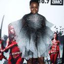 Danai Gurira – 'The Walking Dead' TV Show Screening in LA - 454 x 636