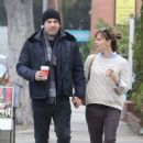 Ben Affleck and Jennifer Garner enjoying a Sunday morning walk in LA (October 27)