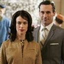 Jon Hamm and Maggie Siff