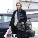Jane Lynch: went to CVS Pharmacy for a few items in Studio City