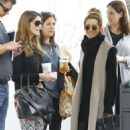 Ashley Tisdale Ashley Greene Lunch At Olive Thyme Cafe In Burbank