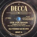 Ella Fitzgerald - Cow Cow Boogie / That's The Way It Is