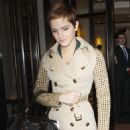 Emma Watson - Leaving her Manhattan Hotel to appear on 'Live With Regis and Kelly' Show - November 16, 2010
