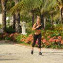 Gemma Atkinson Jogging In Punta Cana