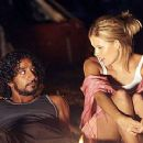 Naveen Andrews and Maggie Grace