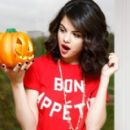 Selena gomez celebrates Halloween