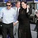 Liv Tyler – Arriving at The Late Show with Stephen Colbert in NYC