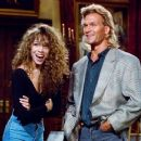 Mariah Carey and Patrick Swayze - Saturday Night Live (1990). - 454 x 375