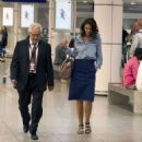 Katie Holmes Arrives in Montreal - 454 x 453