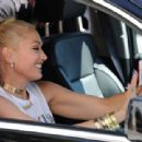 Gwen Stefani – Leaving the Museum Of Ice Cream in Los Angeles - 454 x 311