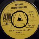 I'll Never Fall In Love Again