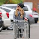 Ashley Tisdale Shops At Whole Foods In Studio City