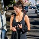 Brenda Song leaving a gym in West Hollywood, California on January 25, 2014 - 412 x 594