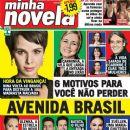 Adriana Esteves, Débora Falabella, Avenida Brasil - Minha Novela Magazine Cover [Brazil] (20 March 2012)