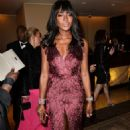 Naomi Campbell The Weinstein Company Netflixs Golden Globes Party In Beverly Hills
