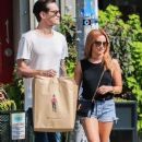 Ashley Tisdale spotted out shopping in New York City, New York on September 8, 2015