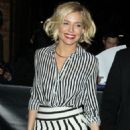 Sienna Miller Arrives At The Daily Show With Jon Stewart