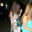 Selena Gomez got her hair chemically straightened today at a hair salon in West Hollywood, California on July 19, 2013 - 454 x 675