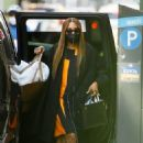 Naomi Campbell – In a dress in New York