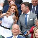 Geri Halliwell – Wimbledon Tennis Championships 2019 in London - 454 x 350