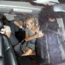 Paris Hilton - Leaving Nylon Magazine TV Issue Launch, 2008-09-04