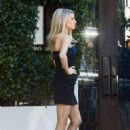 Charlotte McKinney – Photoshoot at Cecconi's in West Hollywood - 454 x 681