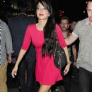 Tulisa Contostavlos Night Style Out In London