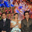 Deepika Padukon and Shah Rukh Khan at the launch of a new song 'Sharabi' - 454 x 664