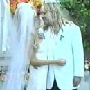 Vince Neil and Heidi Mark at their wedding day