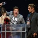 Zac Efron accepts the Comedy Stars of the Year Award at Caesars Palace during CinemaCon April 14, 2016 in Las Vegas, Nevada