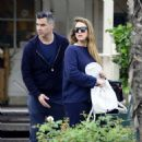 Jessica Alba and Cash Warren out in West Hollywood (November 12, 2017) - 454 x 477