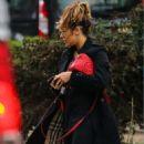 Caroline Flack – Heading to the gym in London - 454 x 787