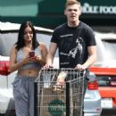 Ariel Winter grocery shopping at Whole Foods in Los Angeles