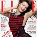 Isabeli Fontana Elle Brazil Magazine February 2015