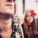 Charlotte Martin and Eric Clapton  photographed by Robert Whitaker in London, 1967 - 454 x 298
