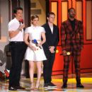 Miles Teller, Kate Mara, Jamie Bell and Michael B. Jordan - 2015 MTV Movie Awards - 454 x 460