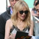 Kylie Minogue – Seen outside BBC Radio Two studios in London - 454 x 681