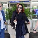 Asia Argento Arriving at Airport in Nice - 454 x 680