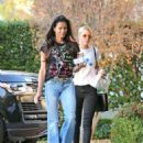 Sofia Richie with her mom Diane Alexander out in Calabasas