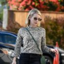 Emma Roberts at a film company office in West Hollywood - 454 x 611