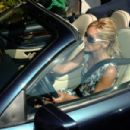 Sharon Stone Lunching And Signing Autographs In Beverly Hills, August 16 2006