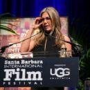 Jennifer Aniston accepts the Montecito Award honoring Jennifer Aniston at the Arlington Theater on January 30, 2015 in Santa Barbara, California