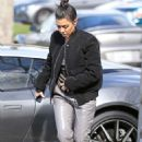 Kourtney Kardashian – Out for lunch in Los Angeles