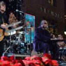 Richie Sambora performs at the 82nd annual Hollywood Christmas parade on December 1, 2013 in Hollywood, CA