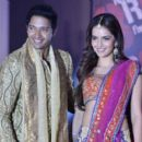 Shreyas Talpade and Shazahn Padamsee