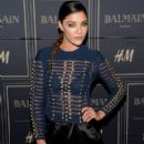 Actress Jessica Szohr attends the Balmain x H&M Los Angeles VIP Pre-Launch on November 4, 2015 in West Hollywood, California - 406 x 600